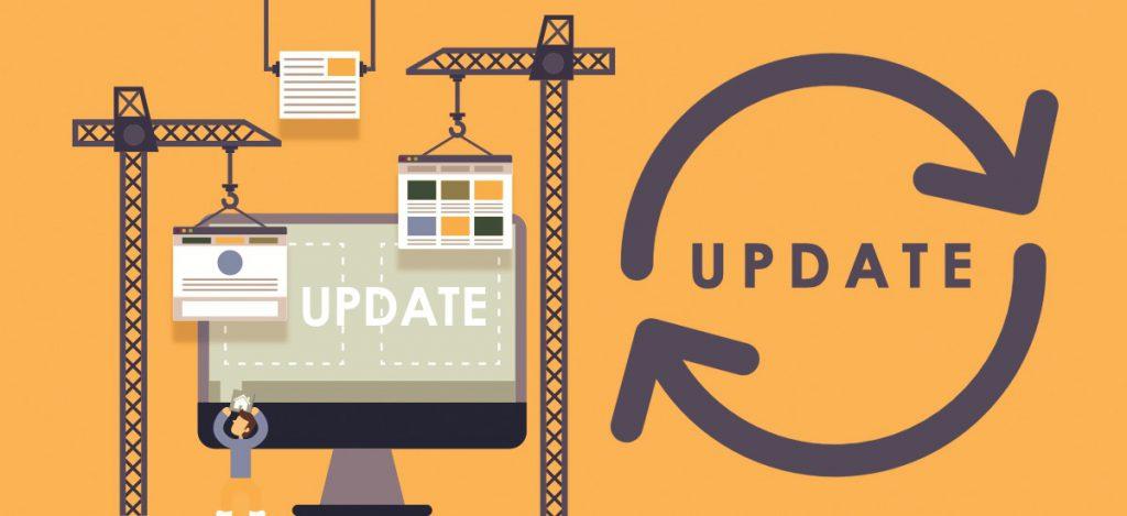 Update your Website's Software