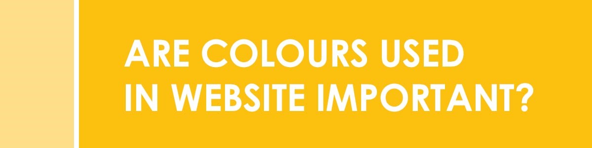 Are Colours used in Website Important