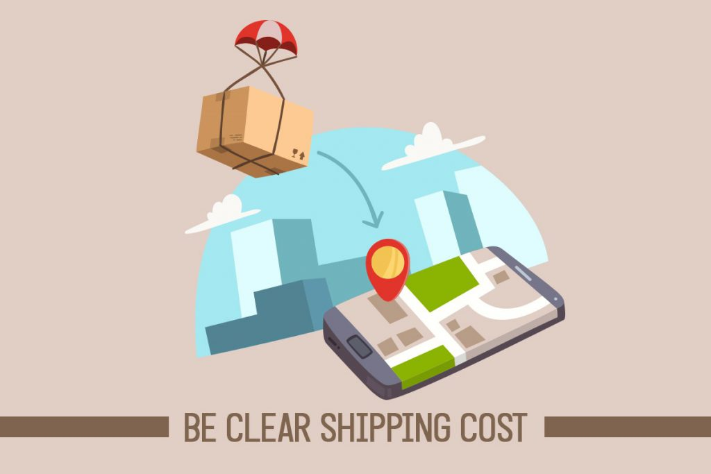 Be Clear Shipping Cost