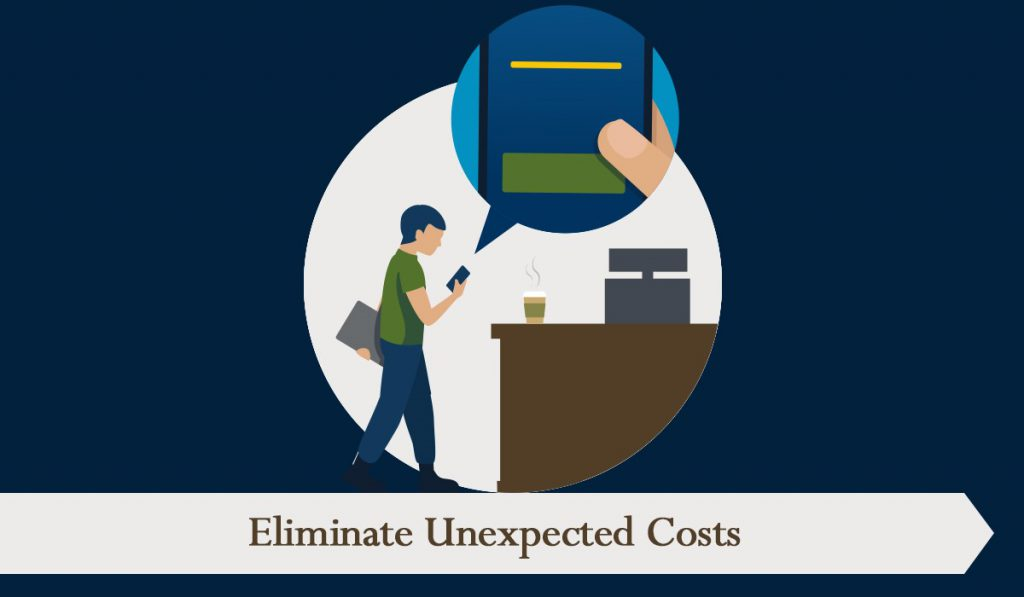 Eliminate unexpected costs