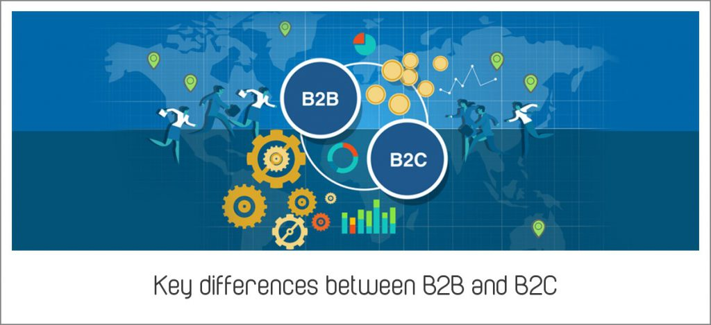 Key differences between B2B and B2C