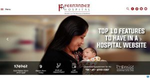 Top 10 Features to Have in a Hospital Website