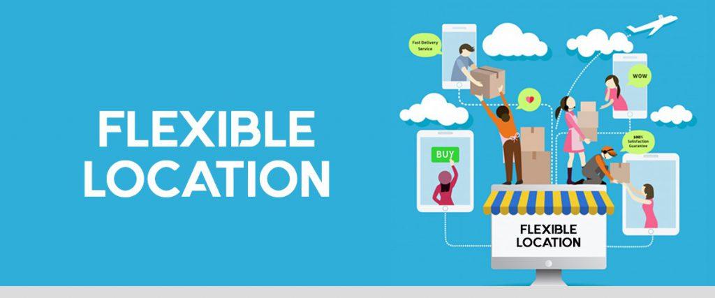 Flexible location