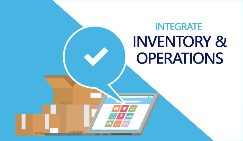 Integrate inventory and operations