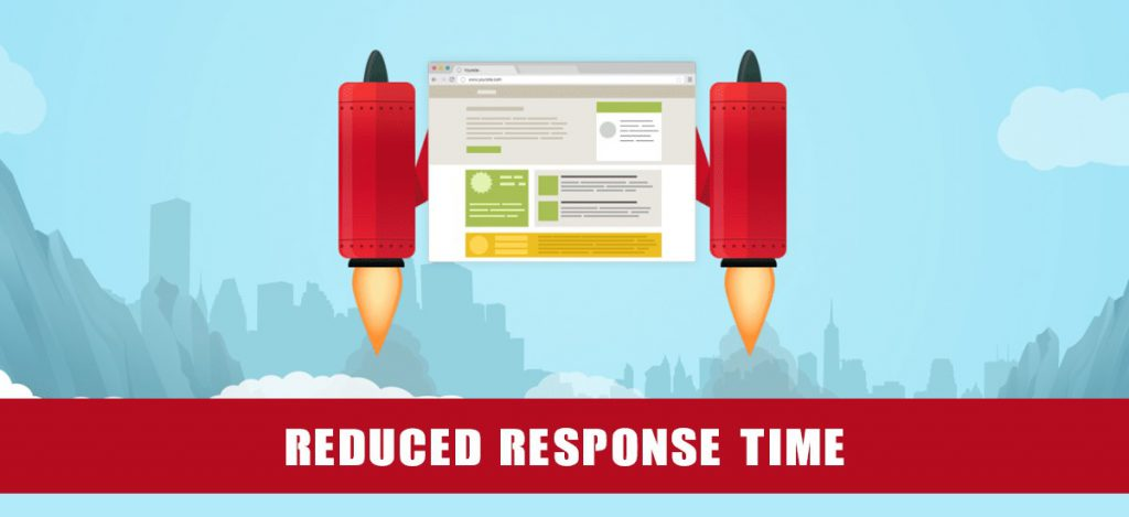 Reduced response time