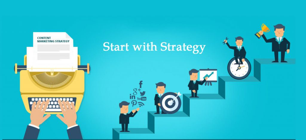 Start with strategy