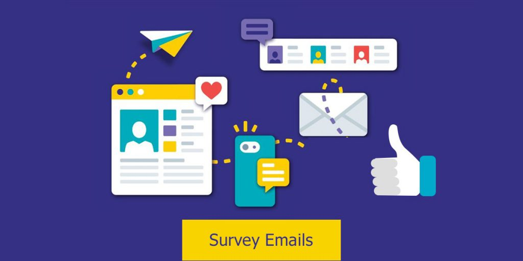 Survey emails