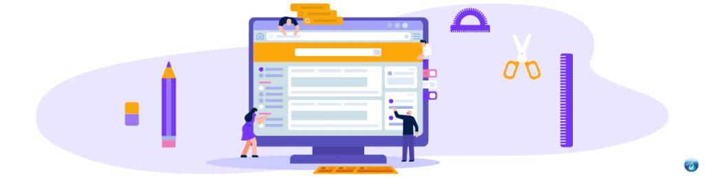 Design an eye-catching website