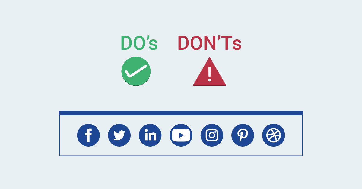 Do's & Don'ts of Event Promotion on Social Media