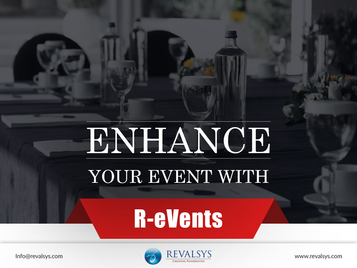 Enhance your event with R-eVents